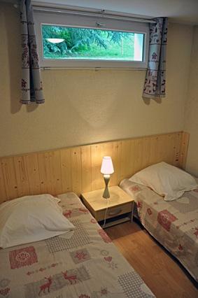 Les Marmottes - Chambre à lit double